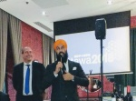 Guy Caron and Jagmeet Singh at the Ignite Reception