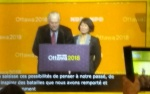 Ed Broadbent and Olivia Chow